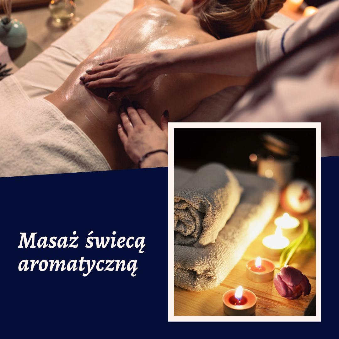Nowość wFundacji: masaż aromatyczną świecą